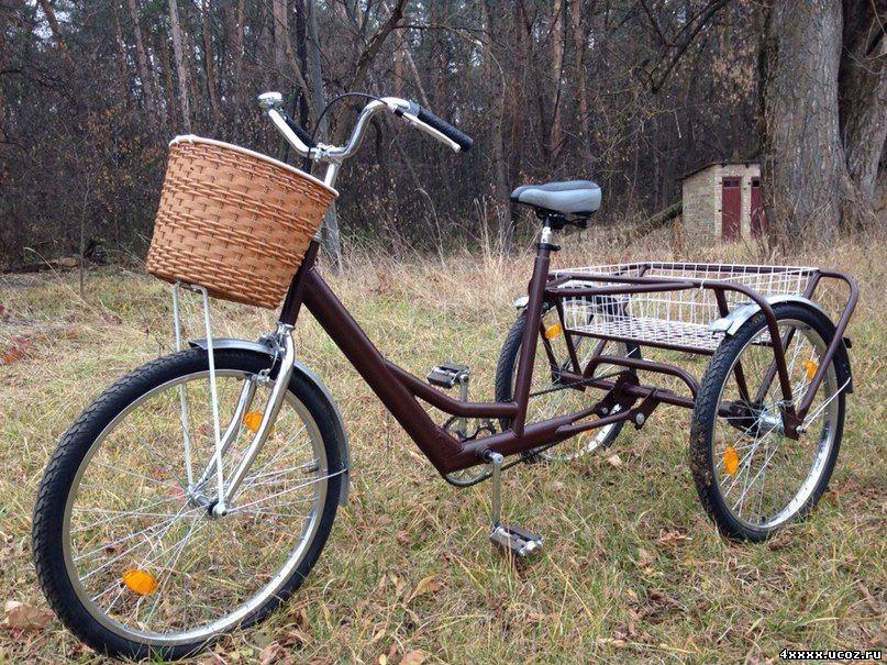 Трёхколёсные велосипеды взрослые