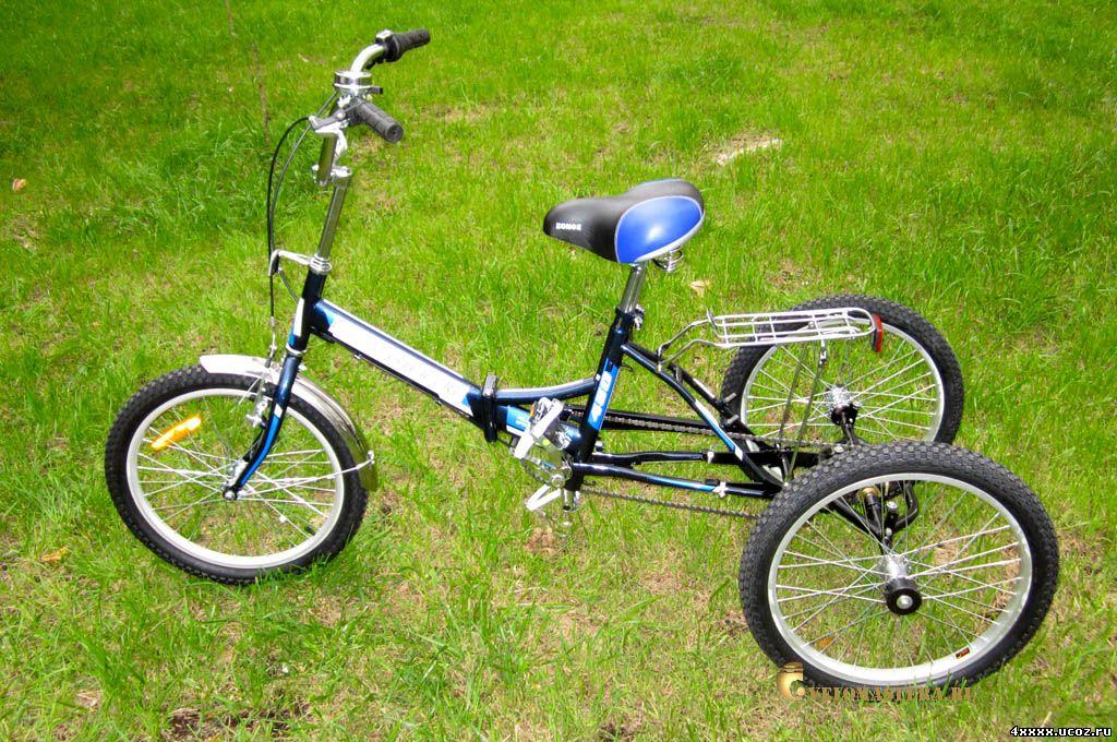 Велосипед взрослый на 3 колесах своими руками 7